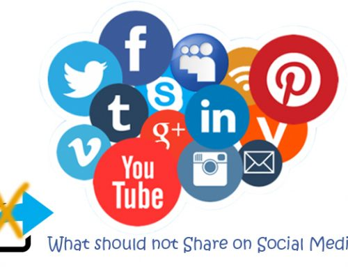 5 things you should never share on Social Media